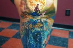 Татуировка : Цветные, Фильмы на бедре