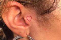 Татушка : Сердце, Мини на голове