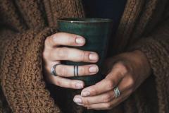 Тату : Кольцо на пальцах