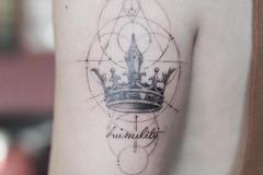 Наколка : Корона на плече