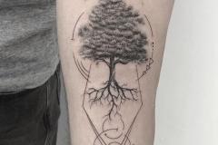 Татушка : Деревья на предплечье