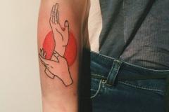 Татуировка : Руки, Цветные на предплечье