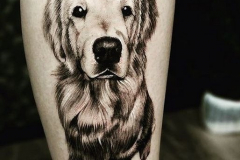 Наколка : Собака, Животные на предплечье