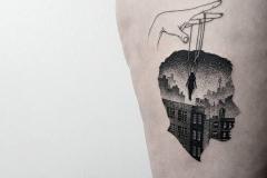 Татуировка : Люди, Руки на предплечье