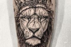 Татушка : Лев, Корона, Животные на предплечье