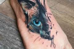 Татуировки на стопе