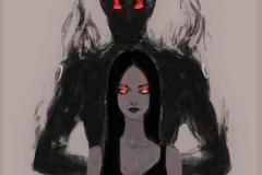 Наколка : Демон, Люди