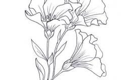 Татуировка : Цветы