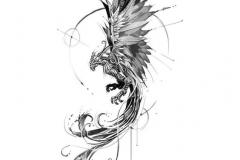 Татушка : Орел, Птицы