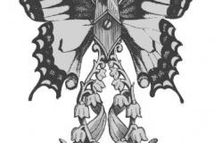 Татуировка : Бабочка