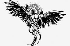 Татуировка : Крылья, Люди