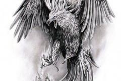 Татуировка : Птицы, Орел - эскиз