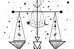 Наколка : Узор, Звезды - эскиз