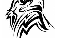 Татушка : Птицы, Орел - эскиз