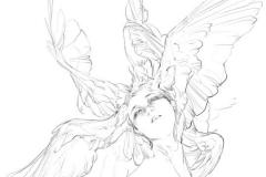 Тату : Птицы, Крылья, Люди