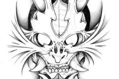 Наколка : Демон