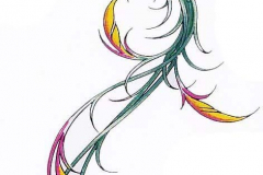 Наколка : Цветные, Узор