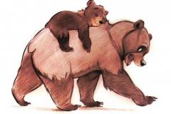 Татуировка : Животные, Цветные, Медведь, Фильмы