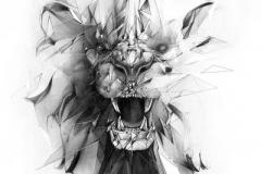 Татушка : Демон, Животные, Лев