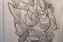 Татуировка : Птицы
