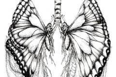 Тату : Бабочка