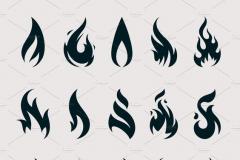 Татуировка : Огонь