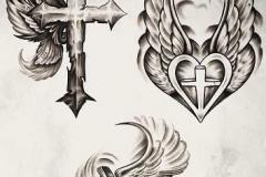 Татушка : Сердце, Крылья