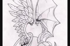 Татушка : Крылья, Череп