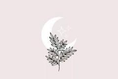 Татушка : Луна, Деревья