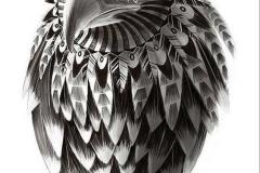 Тату : Орел, Птицы - эскиз