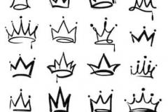 Наколка : Корона