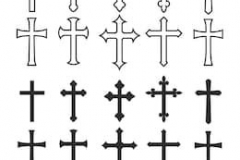 Тату : Крест