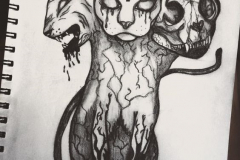 Татушка : Демон, Животные