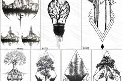 Наколка : Деревья