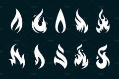 Наколка : Огонь