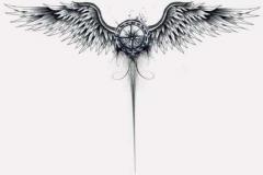 Тату : Птицы, Крылья