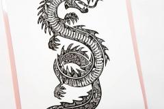Наколка : Змея, Дракон