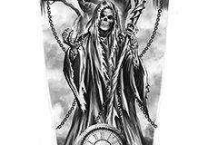 Татуировка : Смерть, Череп