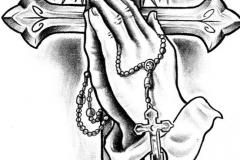 Тату : Руки, Крест