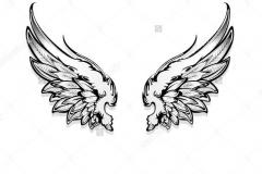 Татуировка : Крылья