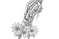 Татуировка : Цветы, Руки