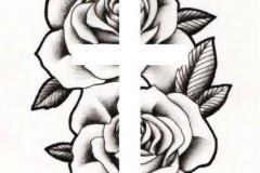Татуировка : Цветы, Роза
