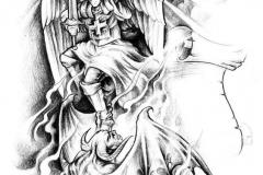 Татуировка : Крылья, Люди, Демон