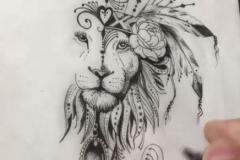 Татушка : Животные, Лев
