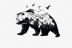 Тату : Животные, Птицы, Медведь