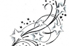 Тату : Звезды, Узор - эскиз