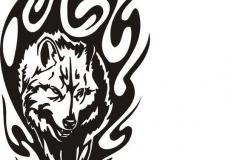 Татуировка : Волк, Животные